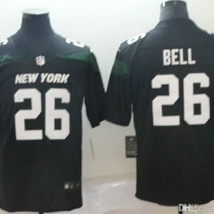 Brand New  Levon Bell 3x Jets Jersey